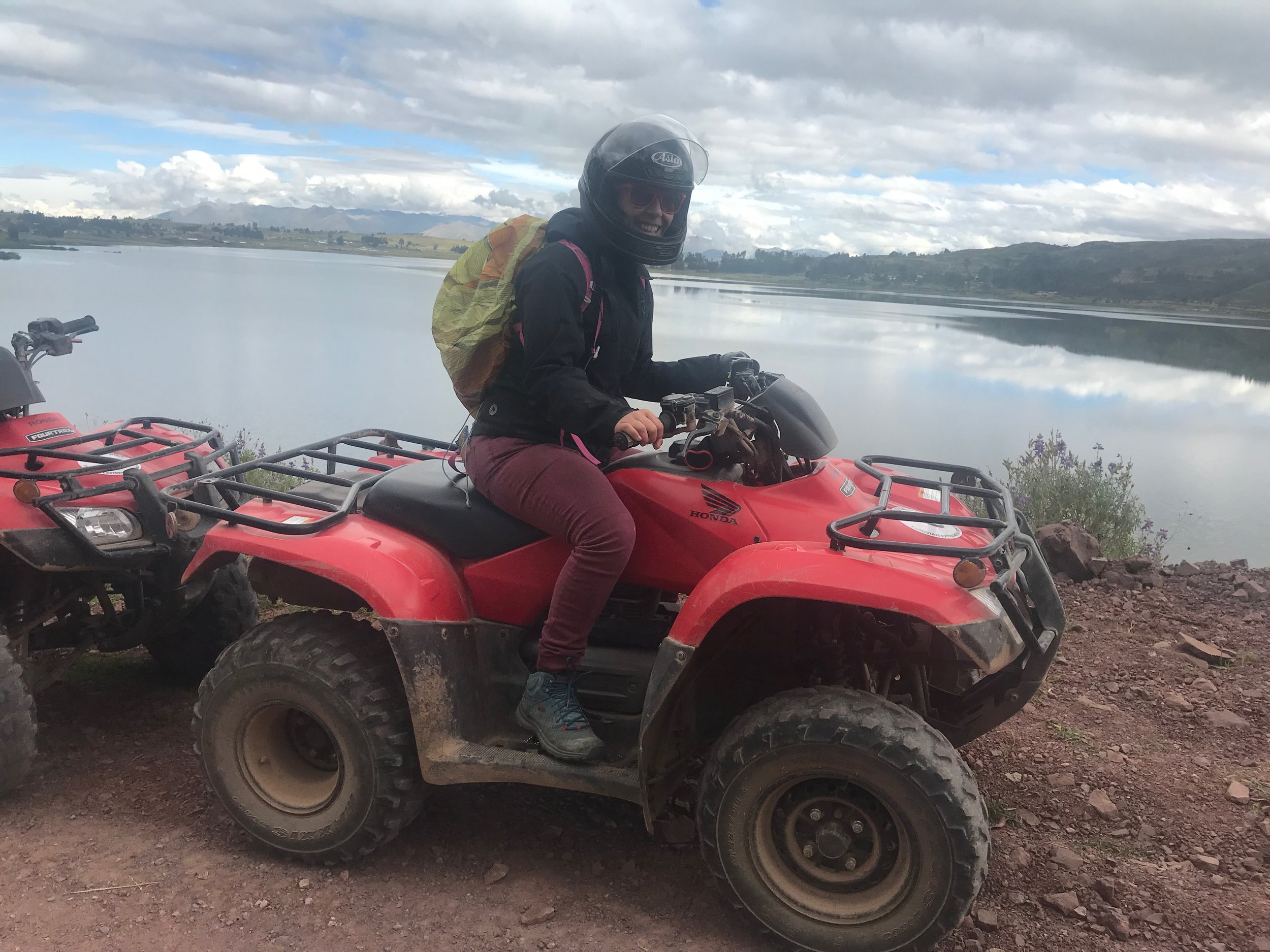 Rented an ATV to explore the Sacred Valley. This was a TON of fun!