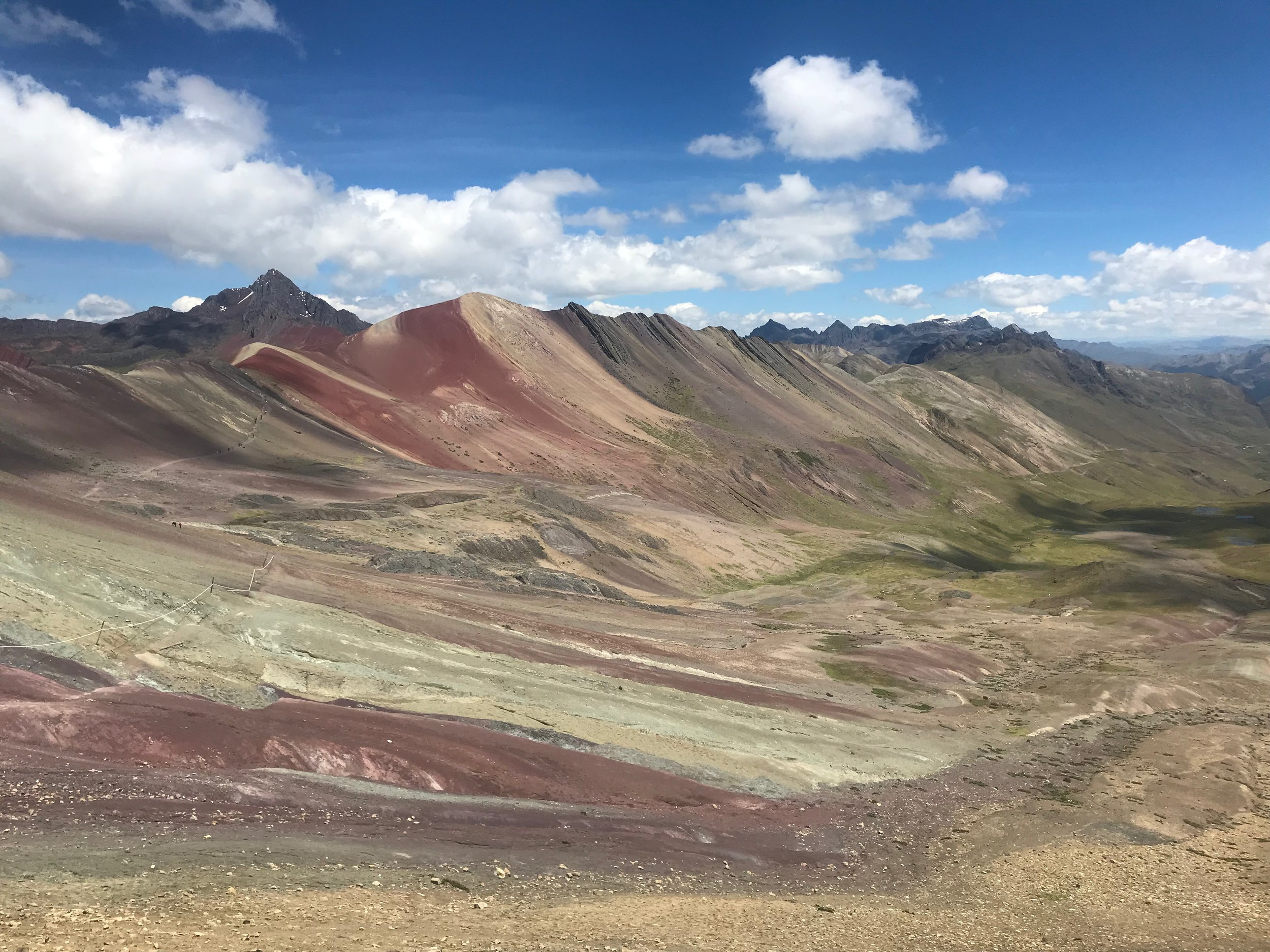 Rainbow Mountain without people…