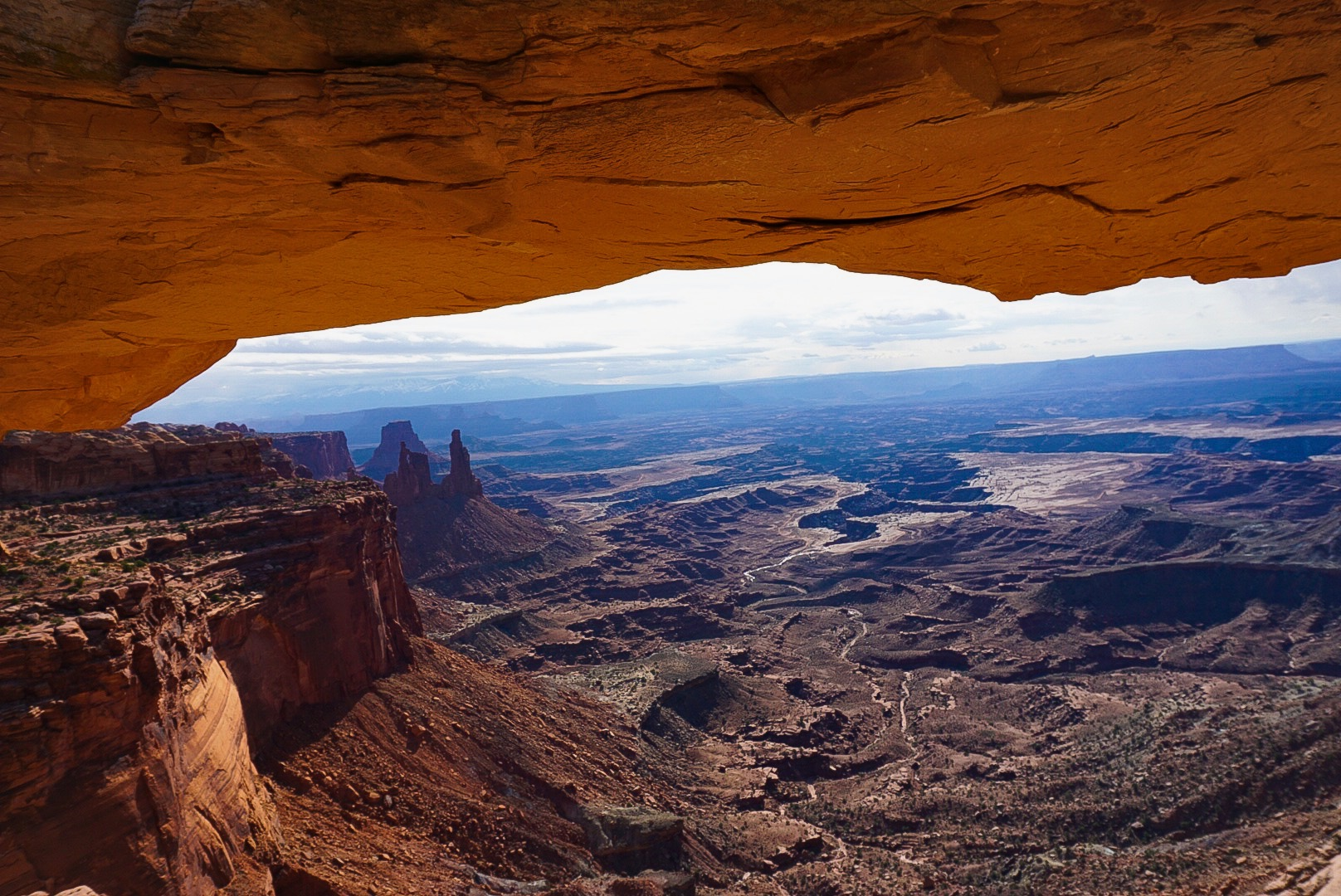 Mesa Arch in Needles District, Canyonlands National Park.