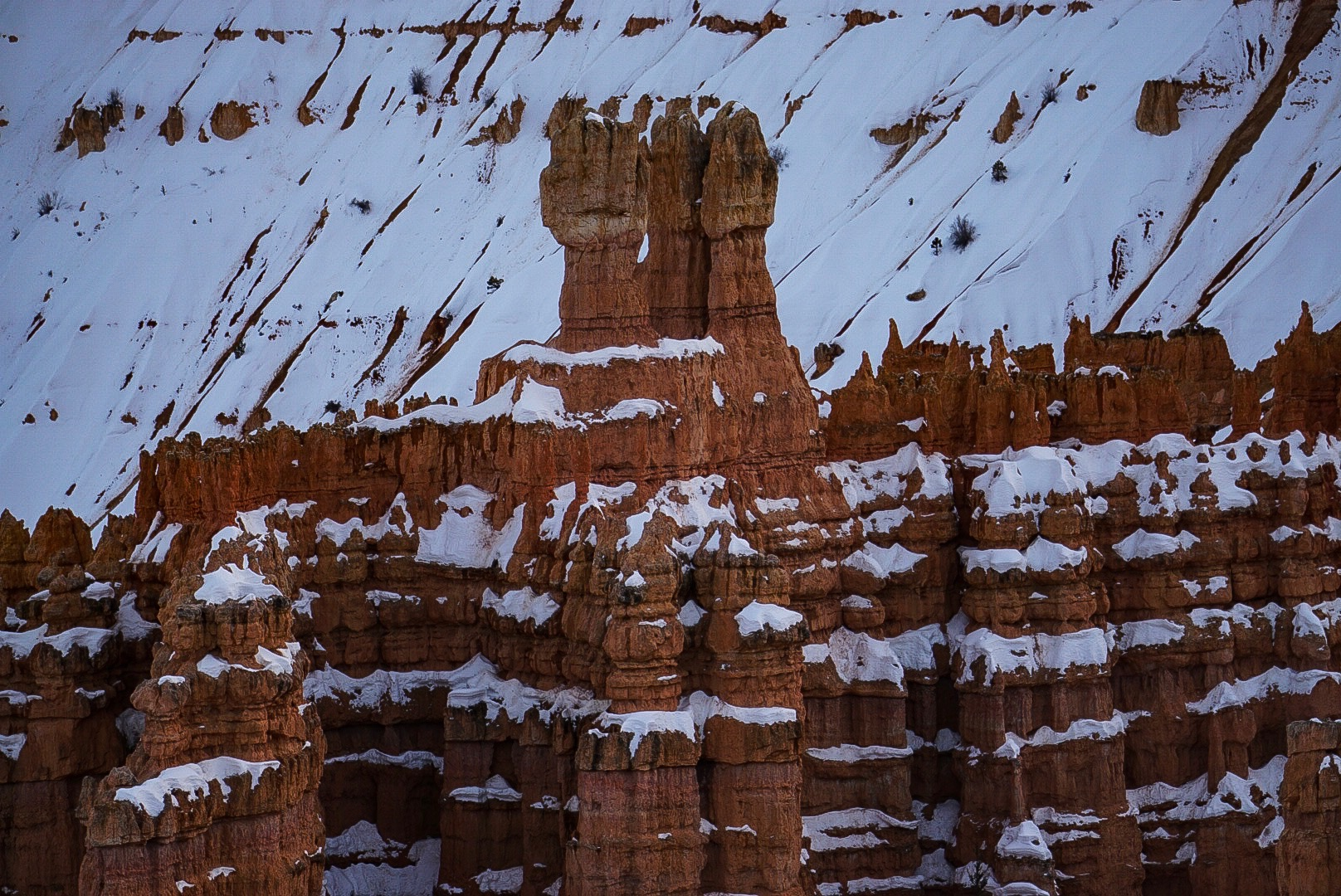 Gingerbread in Bryce Canyon National Park.