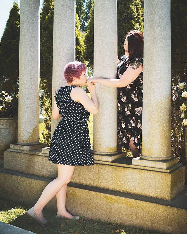 Rossana and Rachael. Engagement photos. . #🌈 #🏳️🌈 #loveislove #lovewins #gaypride #pride #lgbt #lgbtq #engaged #shesaidyes #engagement #lgbtwedding #brideandbride #samesexwedding #weddingphotographer #bride #love #photography #photographer #roseglassphotos #saycheese #kdpeoplegallery #agameoftones #photographysouls #portraitgames #portraitpage #featurepalette #featurecollective #photocollective