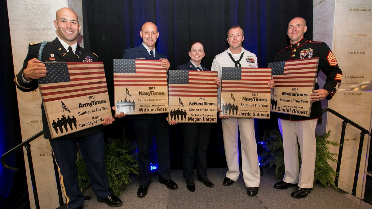 Military Times' 2017 Service Members of the Year among HillVets 100 Recipients