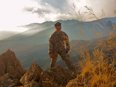 USD Alumnus Earns Military Times Honors with Suicide Prevention App