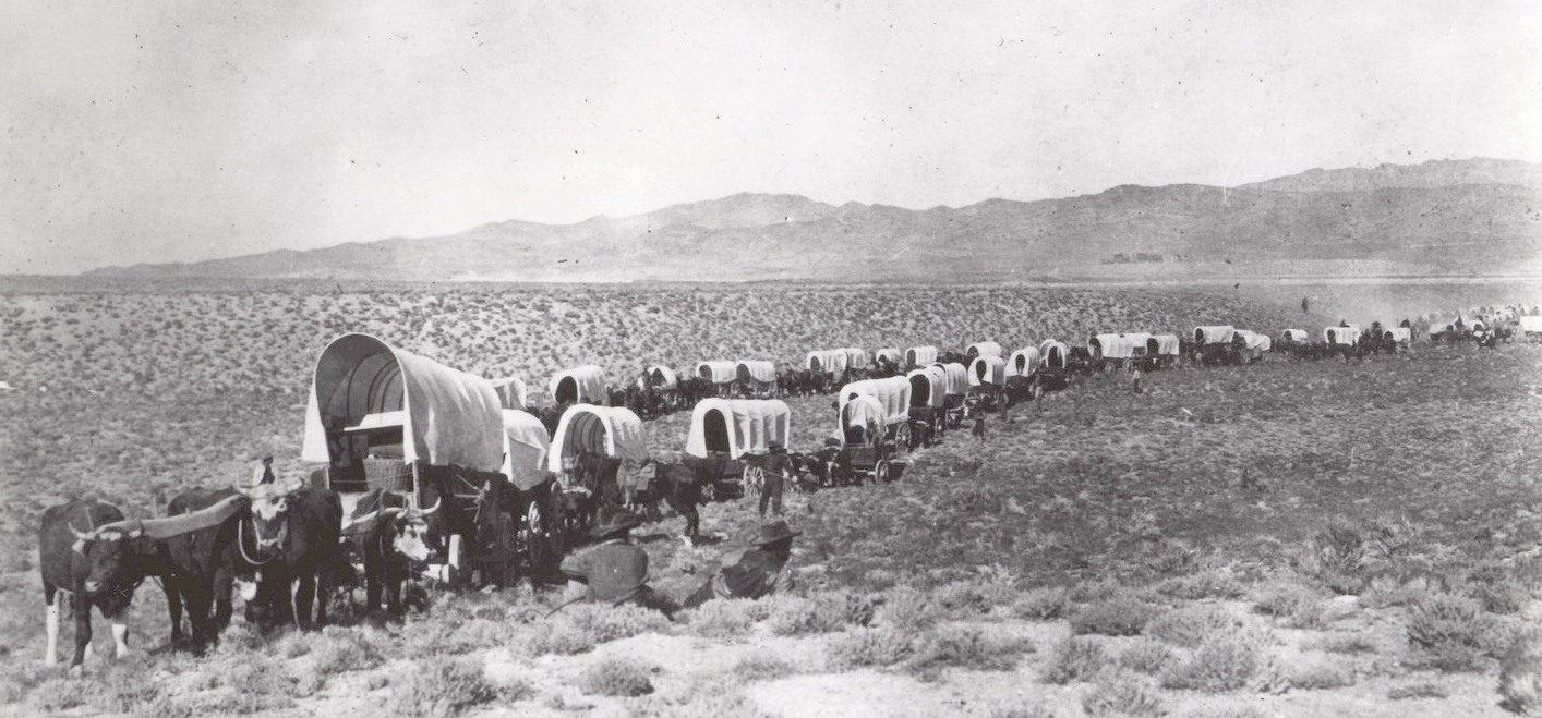 An Exodus -The Mormon Pioneer Trail:  Few years in the Far West were more notable than 1846. That year saw a war start with Mexico, the Donner-Reed party embark on their infamous journey into a frozen world of indescribable horror, and the beginning of the best organized mass migration in American history. The participants of this migration, the Mormons, would establish thriving communities in what was considered by many to be a worthless desert (NPS.) In addition, 4 small groups came through the Salt Lake Valley taking what is known as the Hastings Cut-off across to the Humbolt River. In 1847, the Mormons came in large numbers.