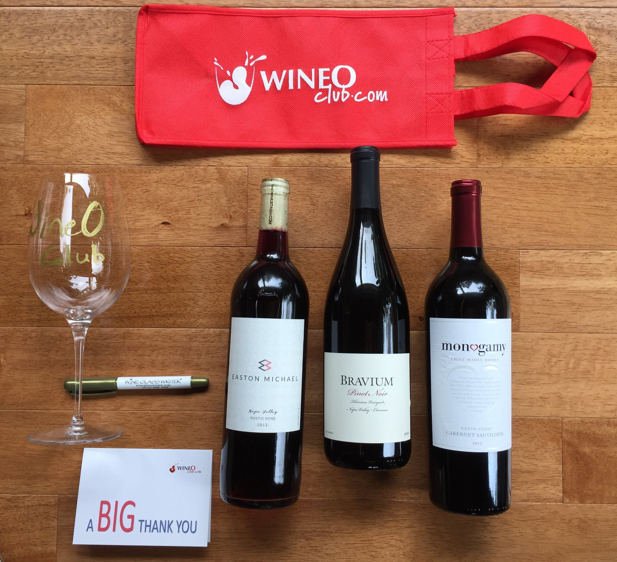 WineO Club Includes - * $85 per shipment* Four (4) Amazing bottles of wine straight to your door/office* Shipping Included* Quality wines straight from boutique and premium wineries* Discount and VIP access to WineO Events