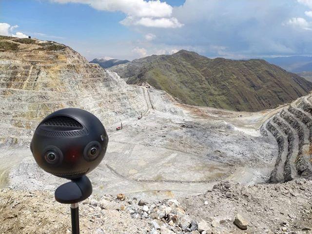 A new day, a new mine 👷♂️👷♀️ #insta360 #insta360pro #360 #mining