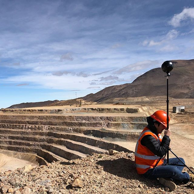 Holding the line against strong winds 🌪 #insta360pro #insta360pro #360video #insta360 #mining
