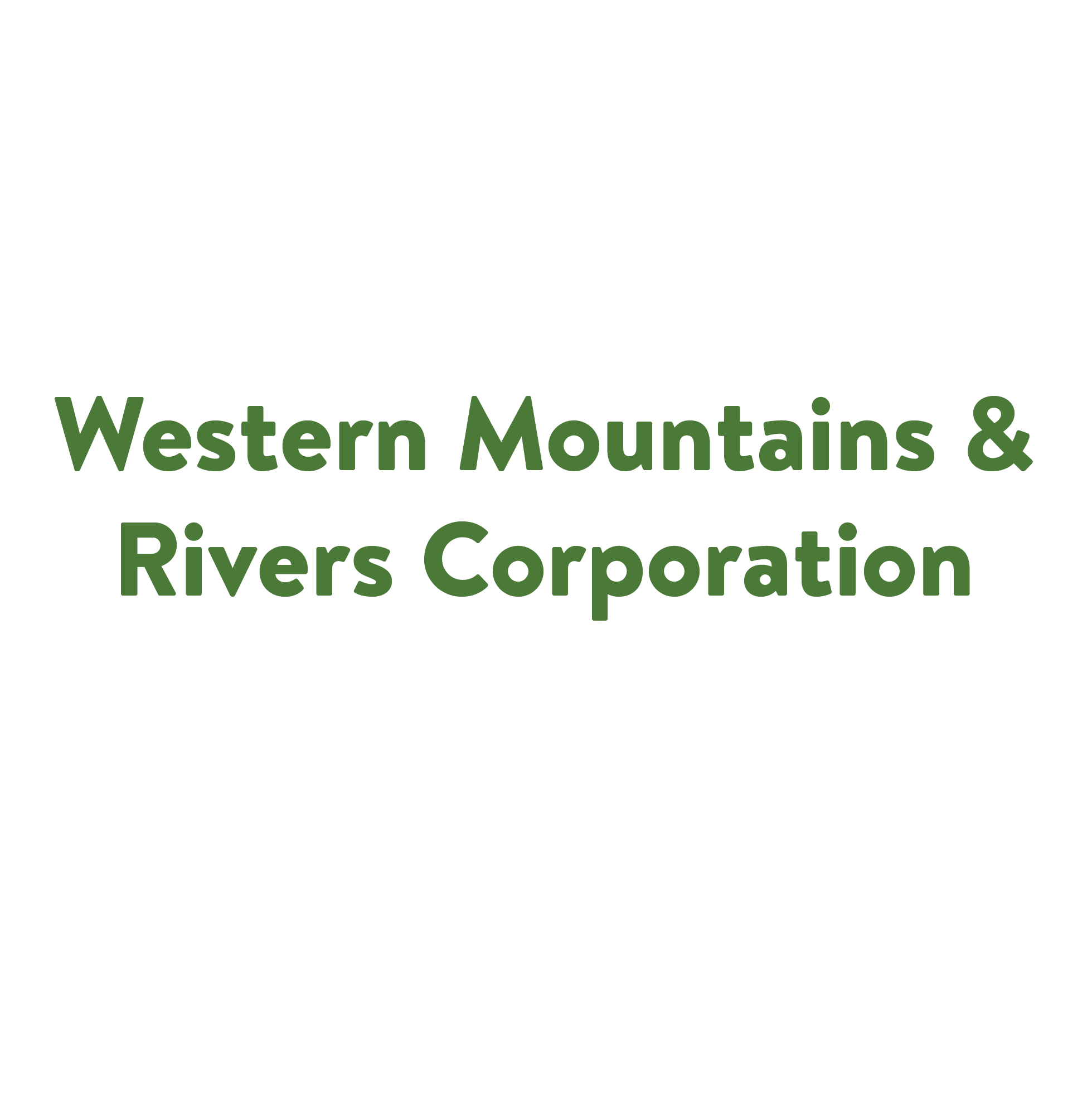 Western Mountains & Rivers Corporation