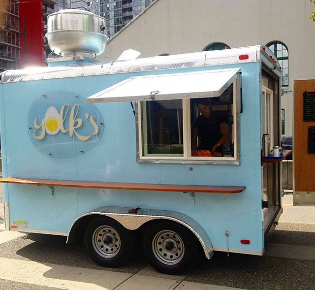 7 years ago today, Yolks opened in this tiny blue trailer 💙 - It's amazing to see how far we have come and grown since then. Two restaurants, two renovations, one move, a patio built, menu changes, and a ton of eggs 🥚 - We wouldn't have been able to do it without all of you! Thanks for stopping by and enjoying what we do, the kind words, the love and support. We love making people happy with our food and we will continue to do so for many years to come 🙂 - Thank you Vancouver ❤️ . . . . . . . . . . . . . . . . . . . . #yolksbreakfast #foodtruck #breakfastfoodtruck #brunchgoals #yvreats #dailyhivevancouver #curiosityvancouver #bestofvan #dishedvan #vancouverisawesome #narcityvqn #eatcouver #veryvancouver #yvr #vancouvereats #vancouverbc #brunchlife #thankyou #welovebrunch #vancouver #vancityeats #vancitybuzz #georgiastraight