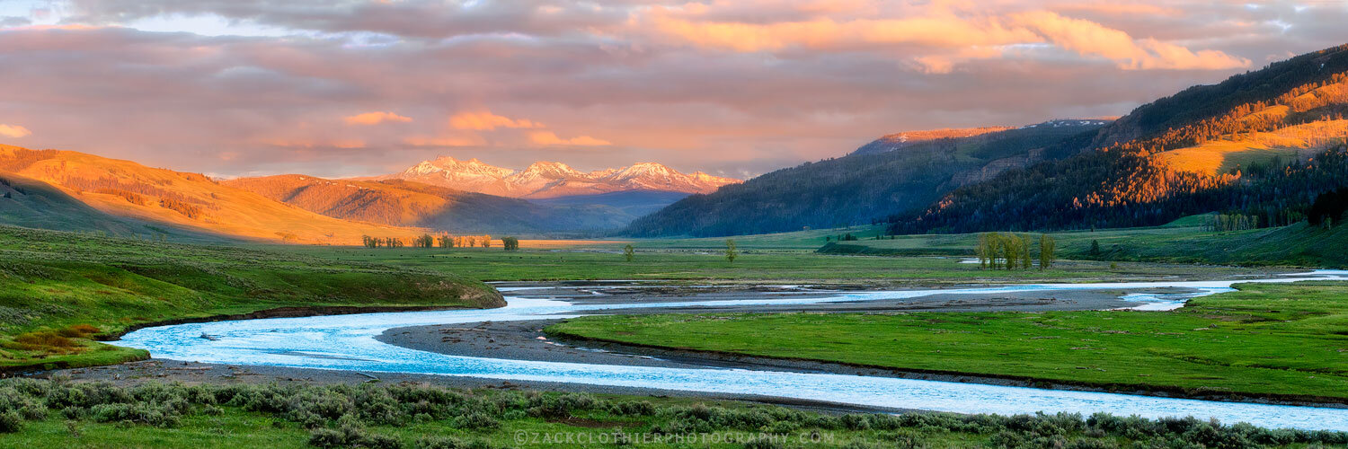 """LAMAR VALLEY SUNDOWN"""
