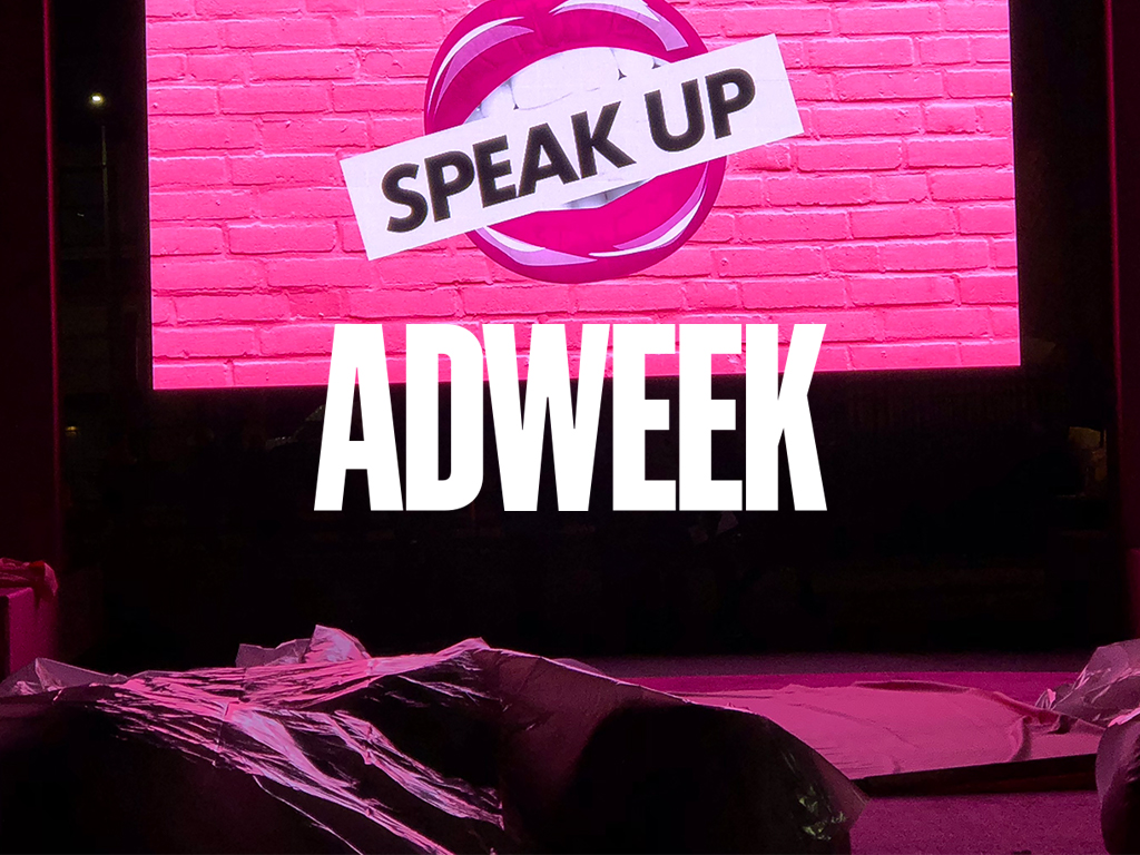Makeup Brand Soap & Glory Uses the Objectification of Lips to Actually Get Women Heard   Campaign from David and m ss ng p eces is more than eye-catching