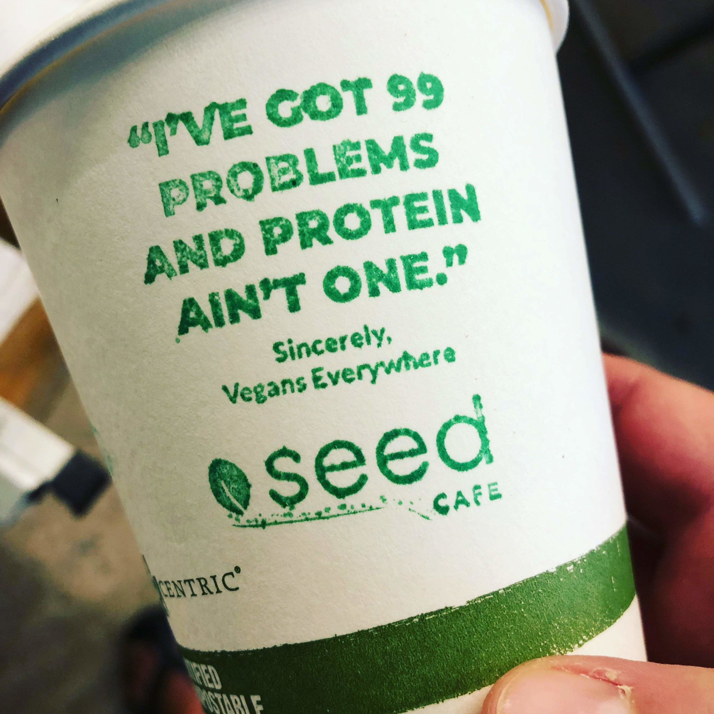 Ya, we'll say it, we got some amazing coffee over hear at Seed Cafe. Come try it today! And great wi-fi too. Come set up shop and get some work done!