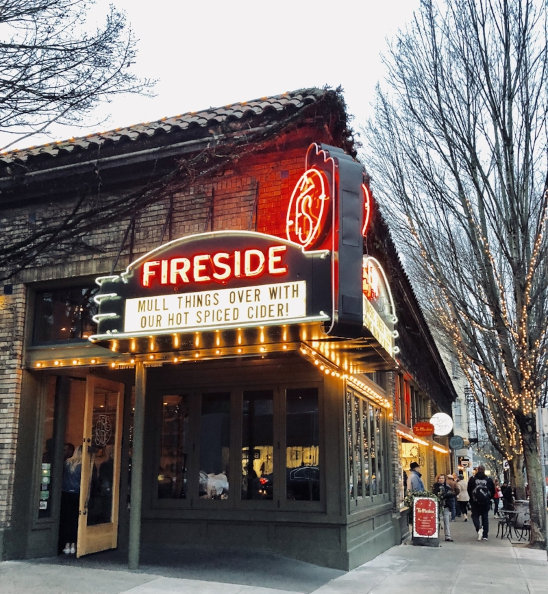 Fireside  for the lovers of cocktails, located on 23rd.