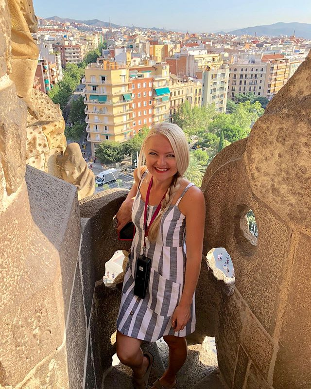This Portland gloomy morning got me missing last year's hot summer in #Spain ☀️🇪🇸