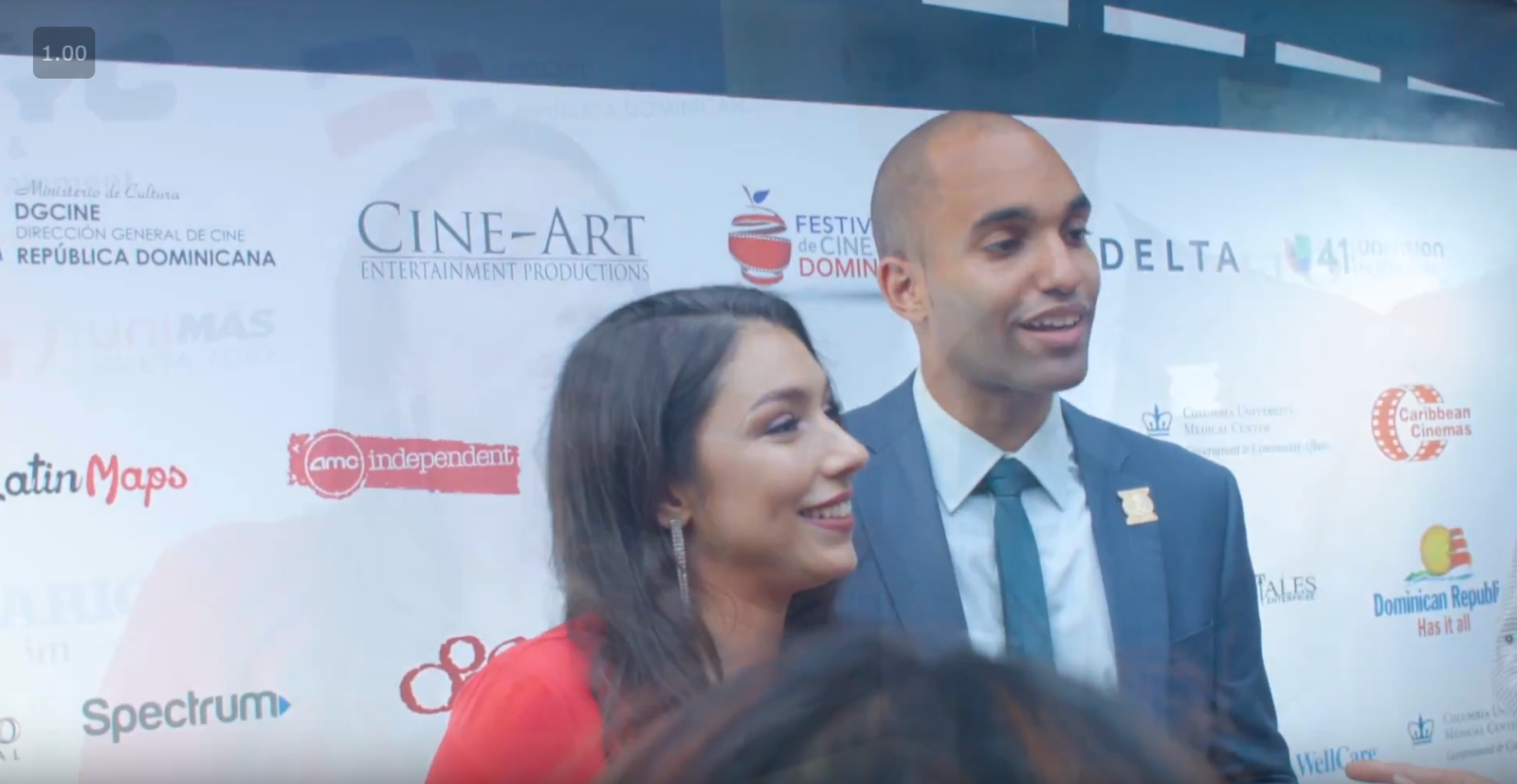 BronxNet covers the Dominican Film Festival Opening Night