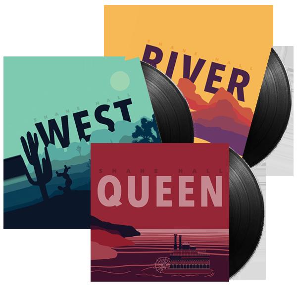WEST, RIVER, QUEEN (VINYL)