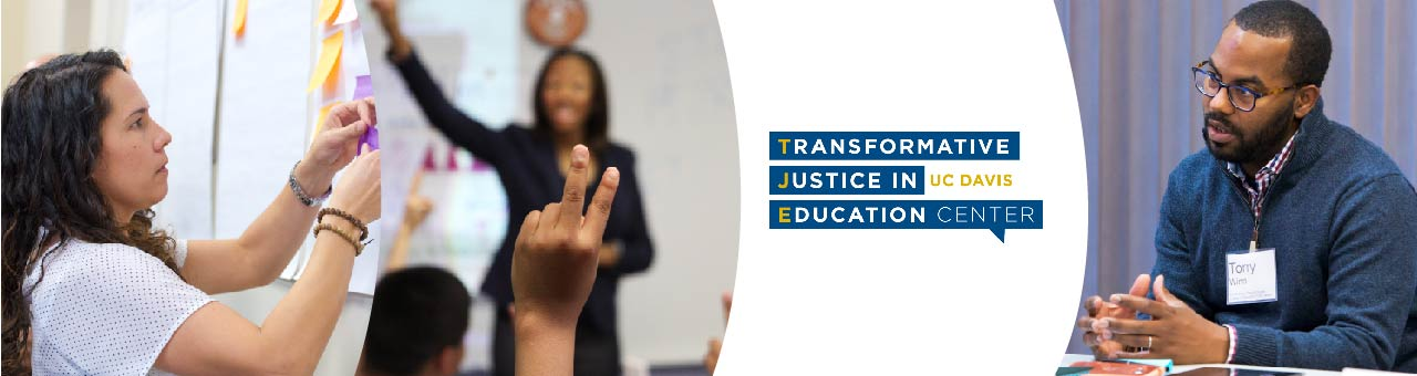 Designed a microsite banner for UC Davis School of Education website