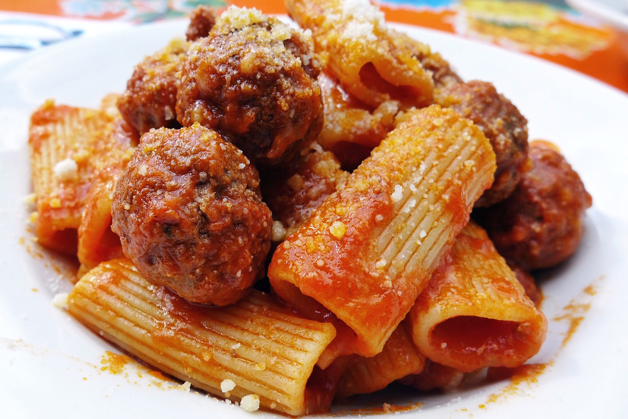 Rigatoni in Frank's Grandmother's Ragu