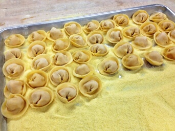 Butternut Squash Stuffed Tortelloni