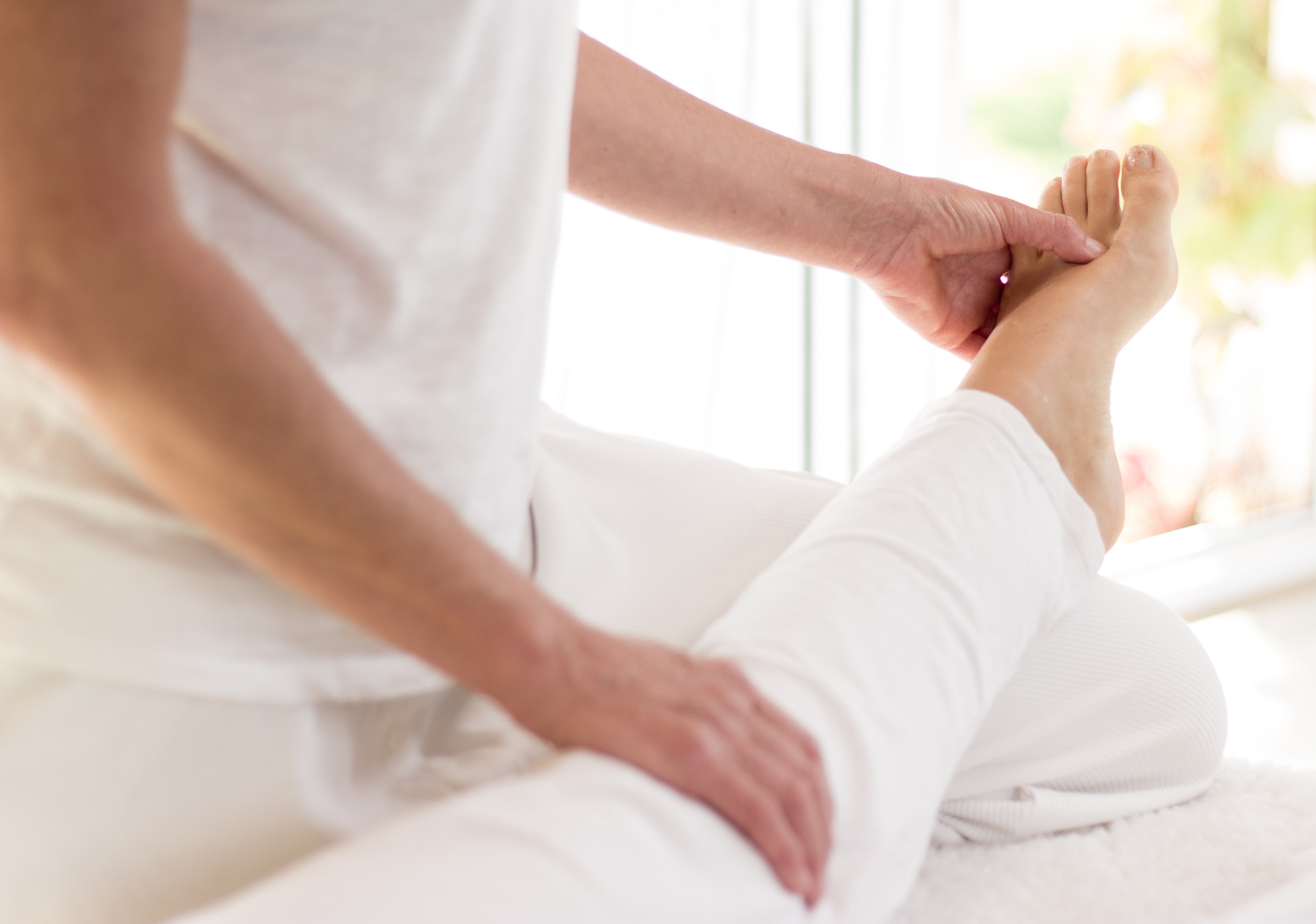 Thai Massage   Gentle, rhythmic rocking, pressure and stretching balances the flow of Qi energy throughout the body, improving flexibility and relieving muscle tension. This therapy uses no oil and is performed fully clothed on a spa table or floor mat.   60 mins $95    75 mins $120    90 mins $140