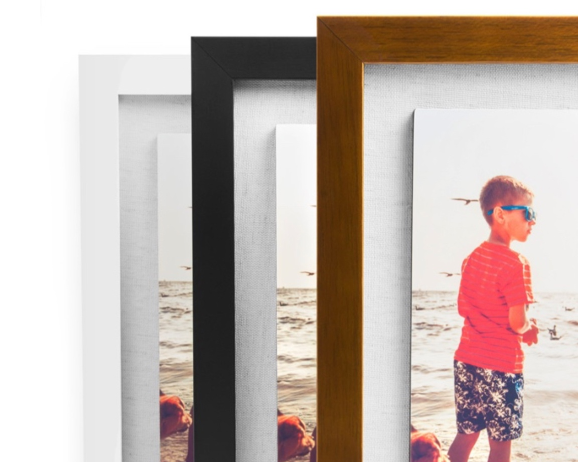 Float Framed Photos11x14 inch: $49016x20 inch: $690 - Available colours: Black, White and Espresso *Jpeg files are not included.