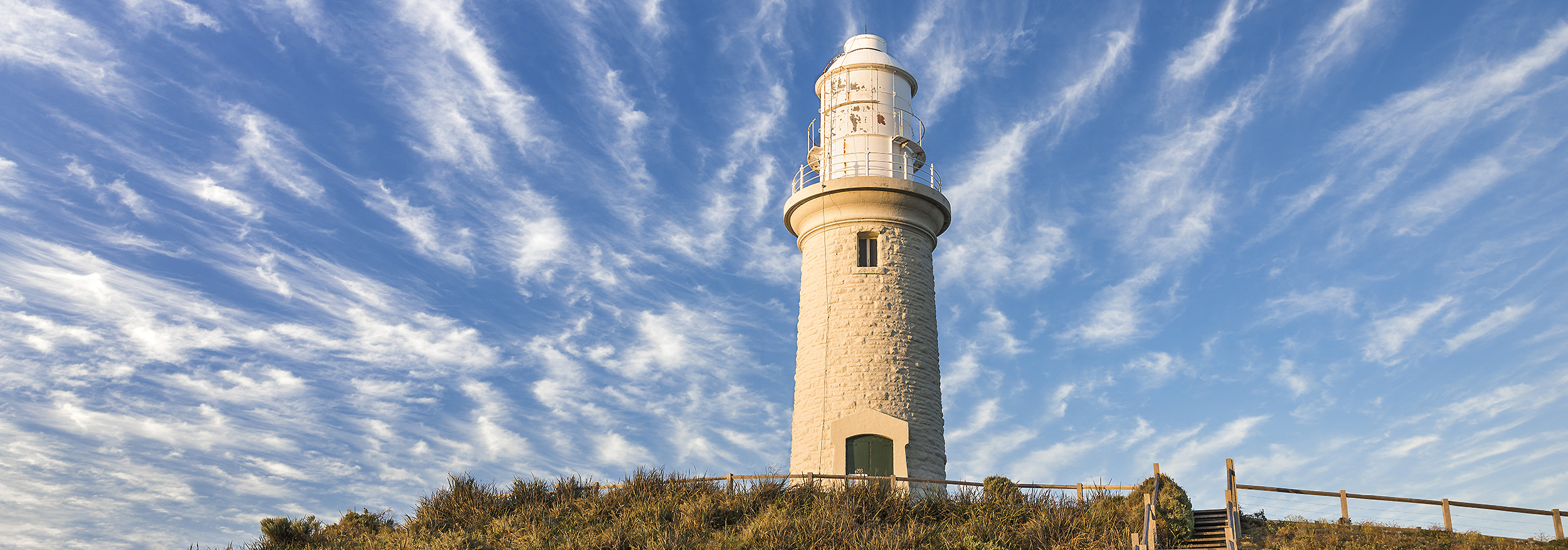 BATHURST LIGHTHOUSE - CIRRUS STREAKS