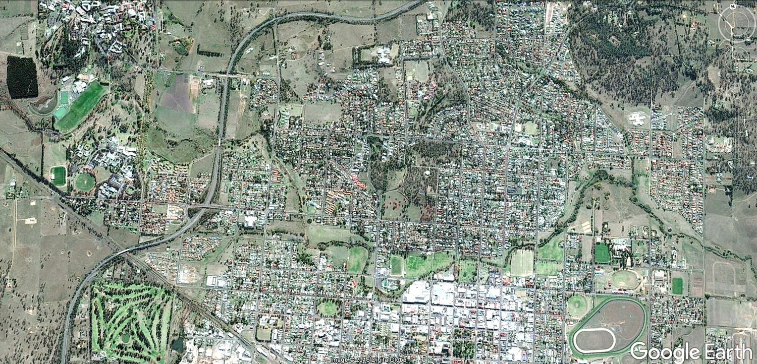 water features in Armidale are not obvious - ...