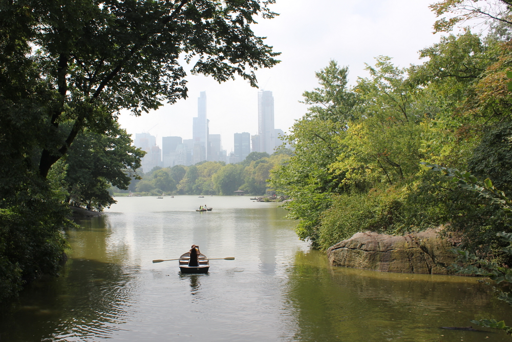 Messing about in boats in Central Park, New York, NY, USA (September 2017)