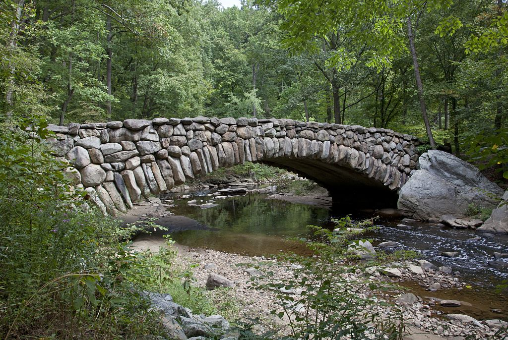 An inspiring bridge? Across Boulder Creek, Boulder, Colorado, USA. Source: Wikimedia Commons