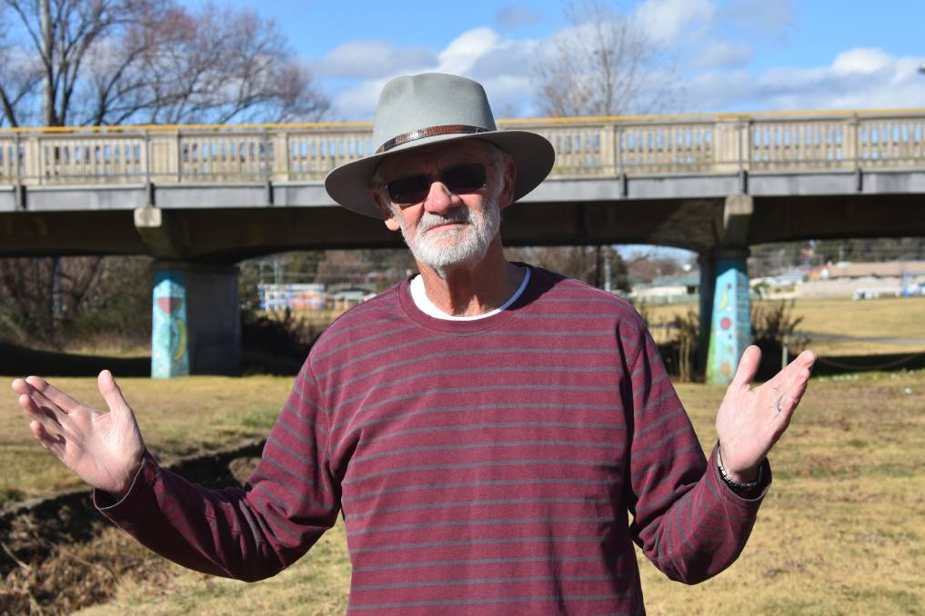 Jim Scott - (President)I believe that all great cities have water as their focal point. As Armidale is, in most respects, a great city, I want it to see beautiful water features throughout the city to enhance the quality of life - of humans, water life, bird life and vegetation.