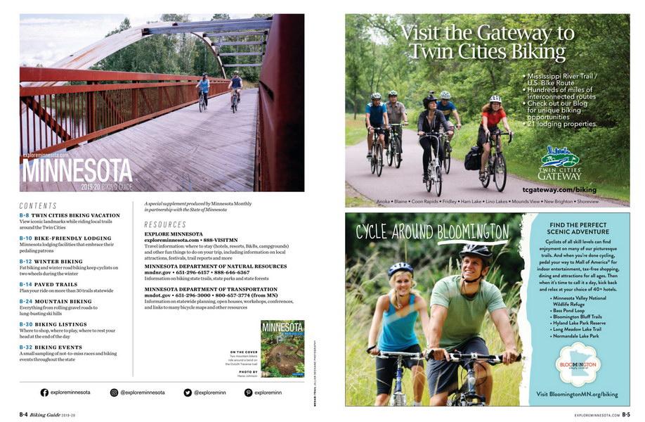 Minnesota  biking guide