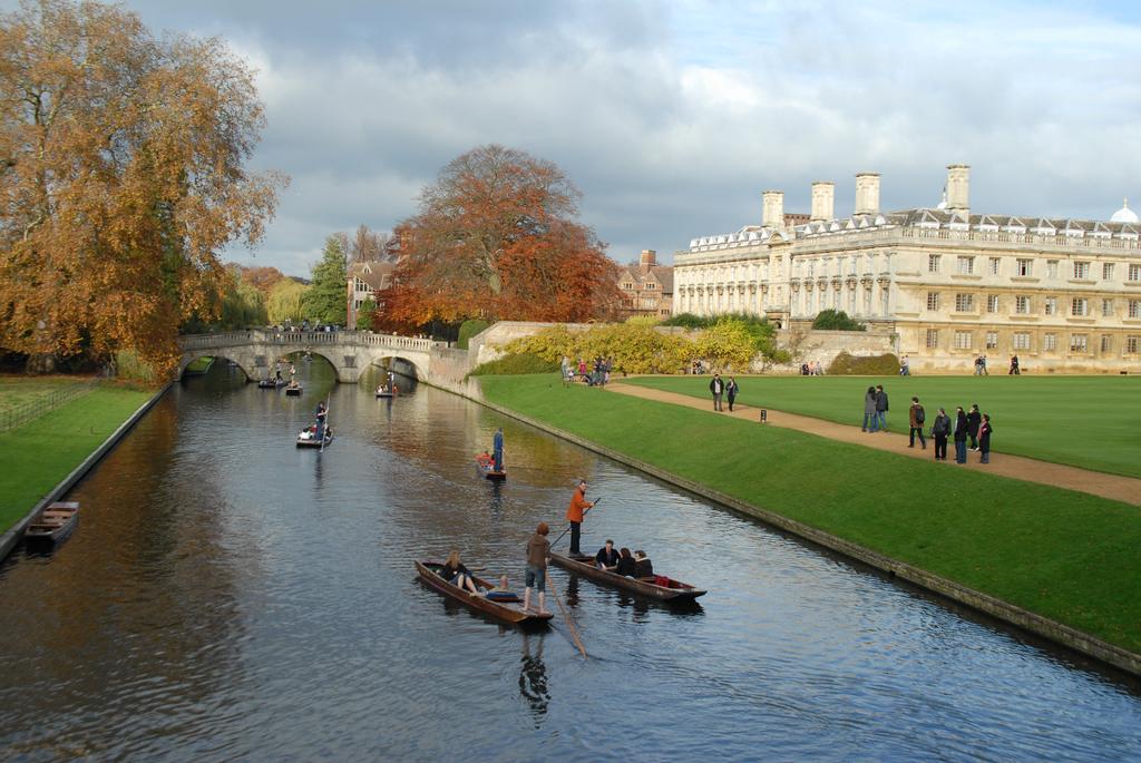 Punting in Cambridge, UK