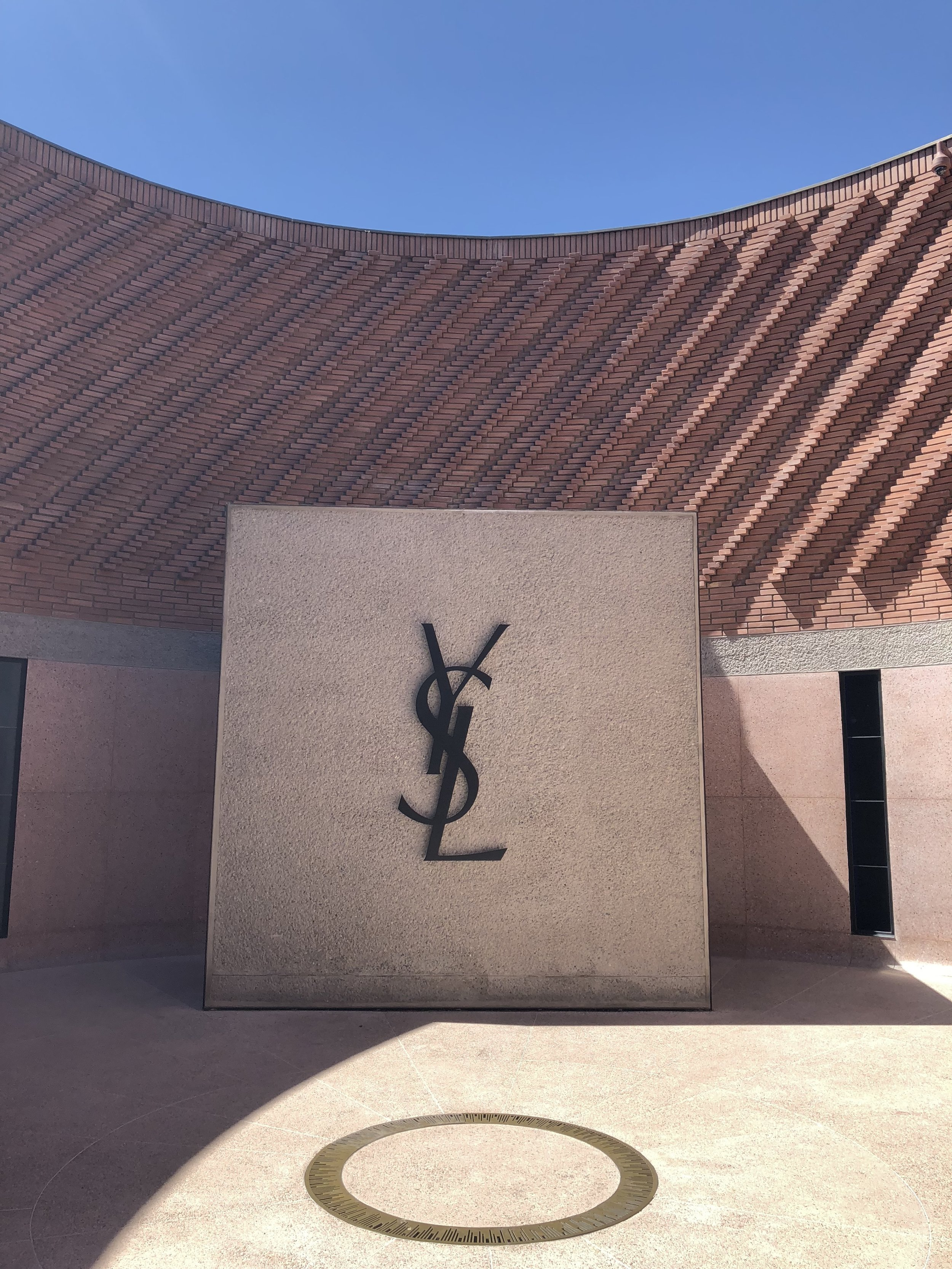 Even if you don't go inside, the architecture of the YSL museum is absolutely stunning