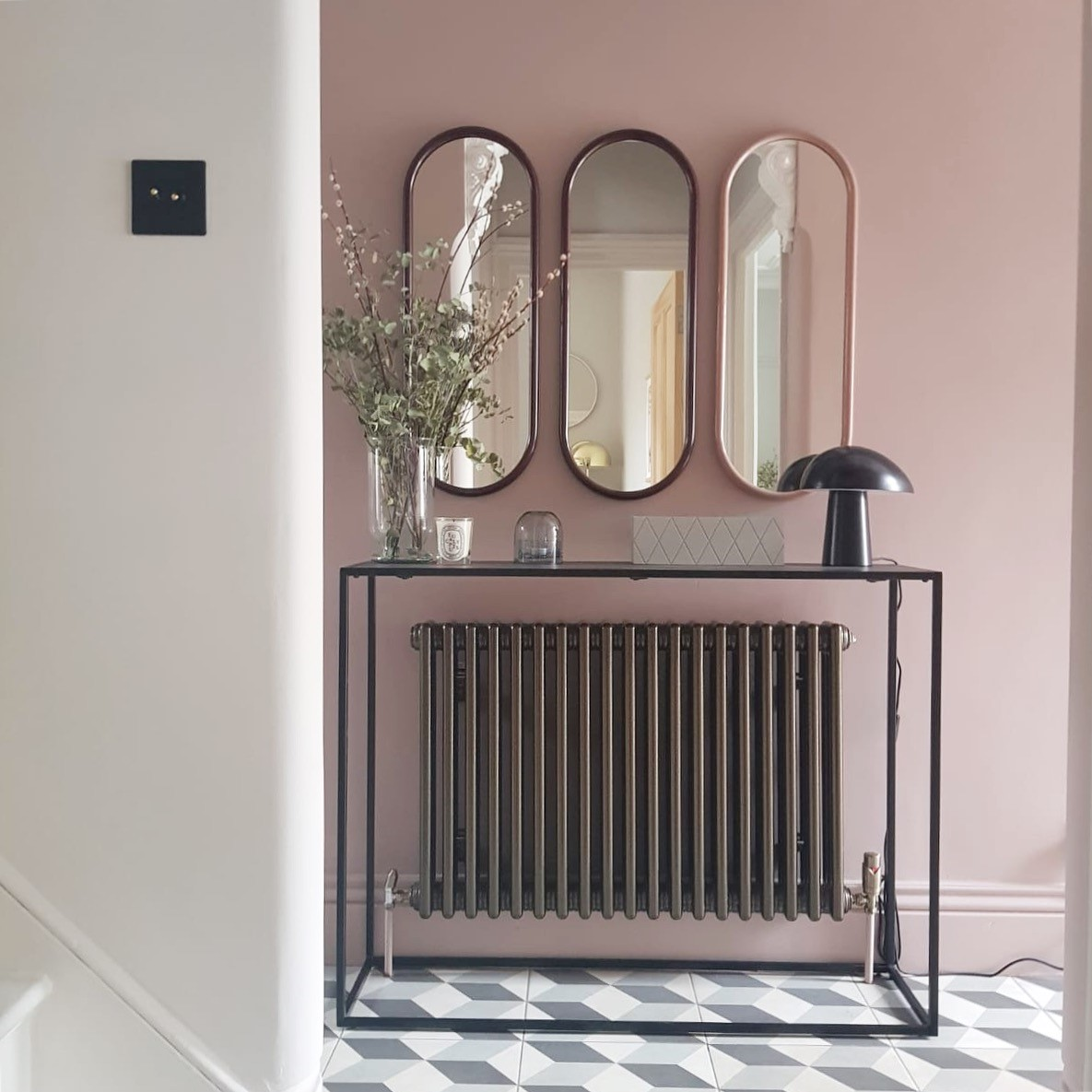 These mirrors are by AYTM and can be found at  Amara