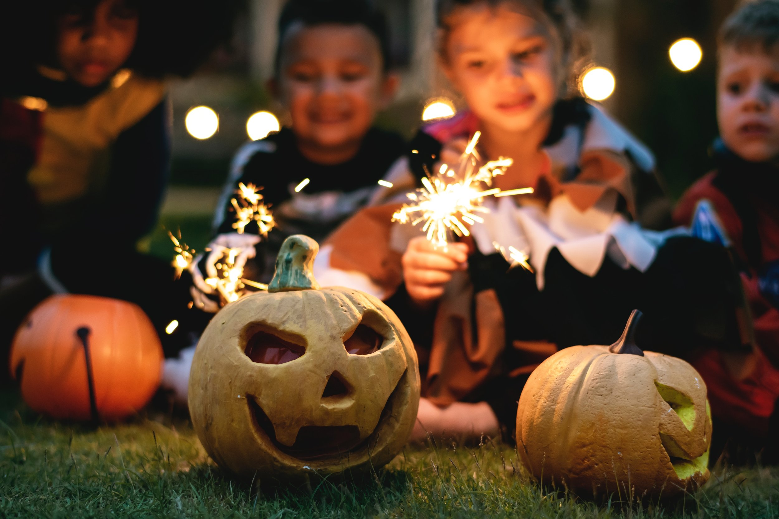 Trick-or-treat Halloween