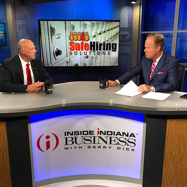 Be sure to tune in tonight at 7:30 on @wfyi_indy and Sunday at 11:00 am on @wthrcom to see @mike.mccarty be interviewed by @gerrydick! They will discuss the importance of school security on @insideindianabusiness. #IIBTV * #PreemptiveSecurity #Safety #Security #BackgroundChecks #Police #VisitorManagementSystem #SafeHiringSolutions #SafeVisitorSolutions #TrustedRiskManagement #SecurityAssessments #ArrestMonitoring