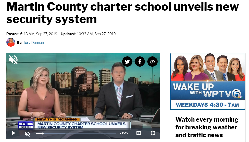 Martin Co Schools Adopt SafeVisitor:    Click Here to Watch