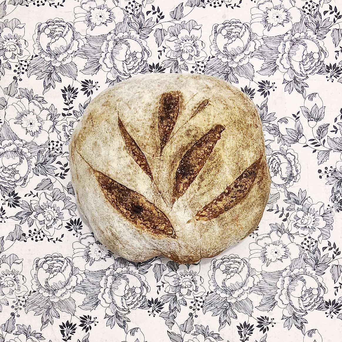 Sourdough boules are getting design-y.