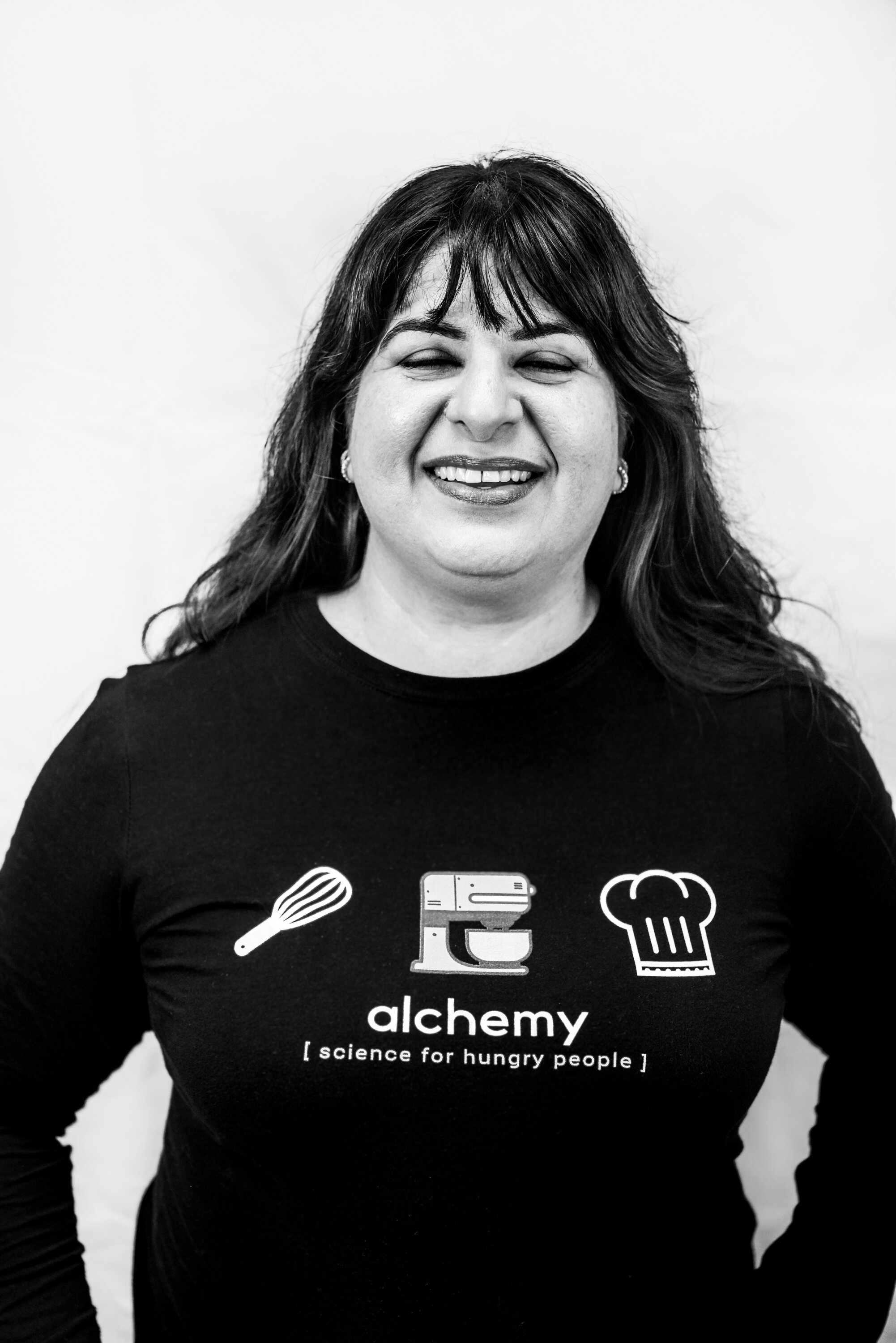 Preeti Waas, owner and baker of Sugar & Spice in Raleigh, talks about building a kitchen to meet her needs and serve the community of micro bakeries in Raleigh. Photo by Megan Crist.