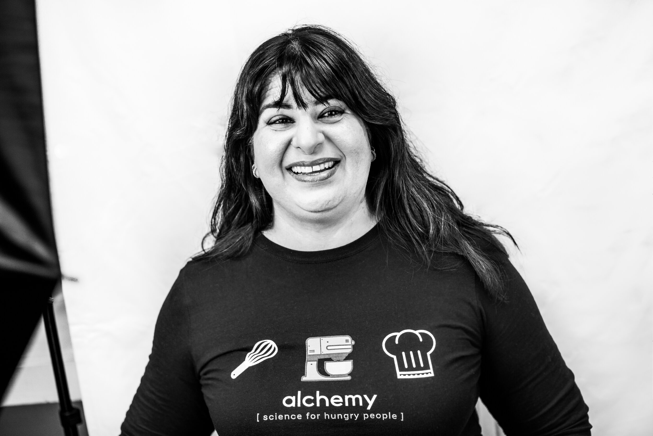 Preeti Waas discusses how she gages her success and overcomes obstacles in her career as a baker and manager of her own bakery. Photo by Megan Crist.
