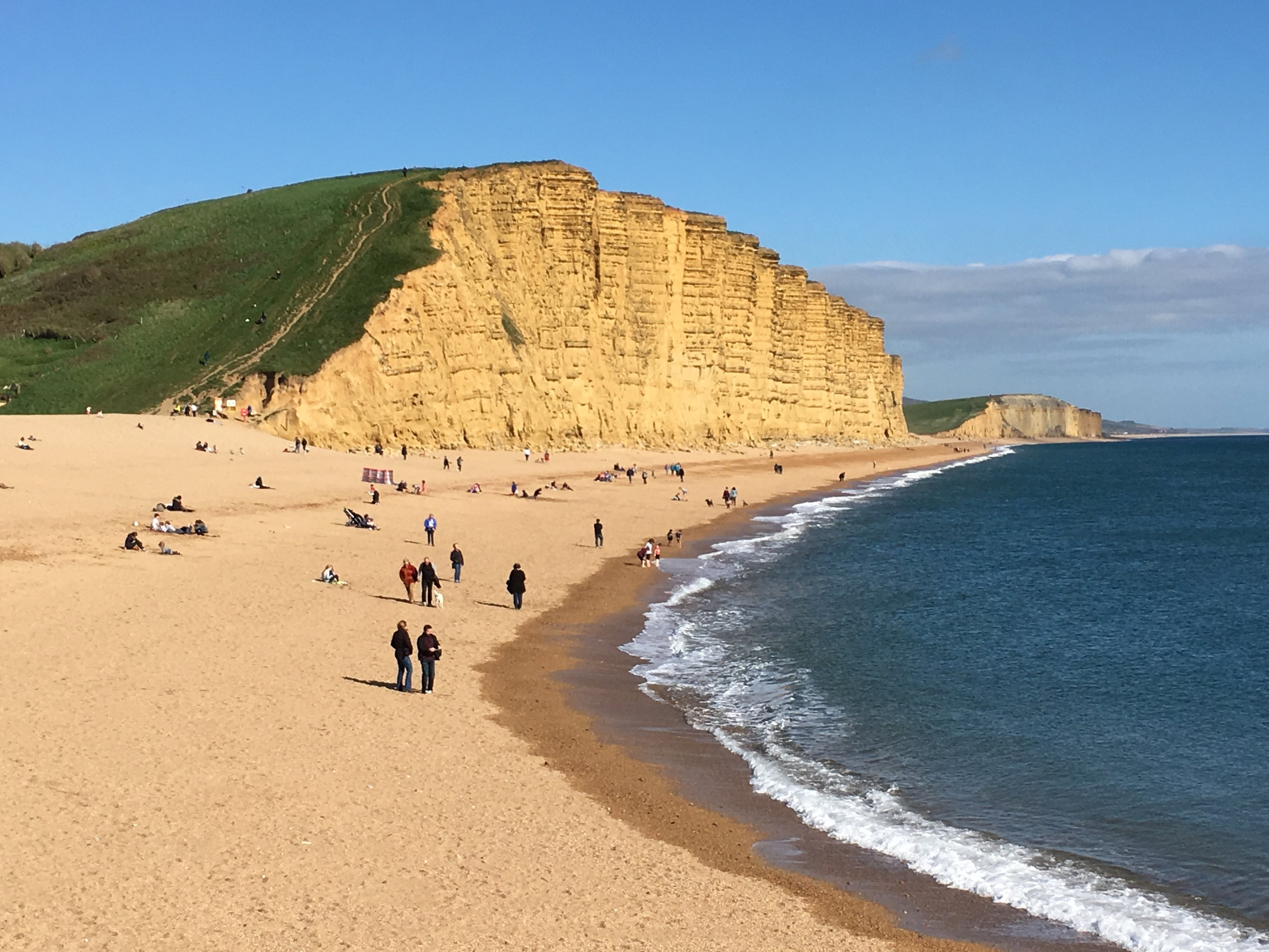 West Bay, location of ITV's Broadchurch