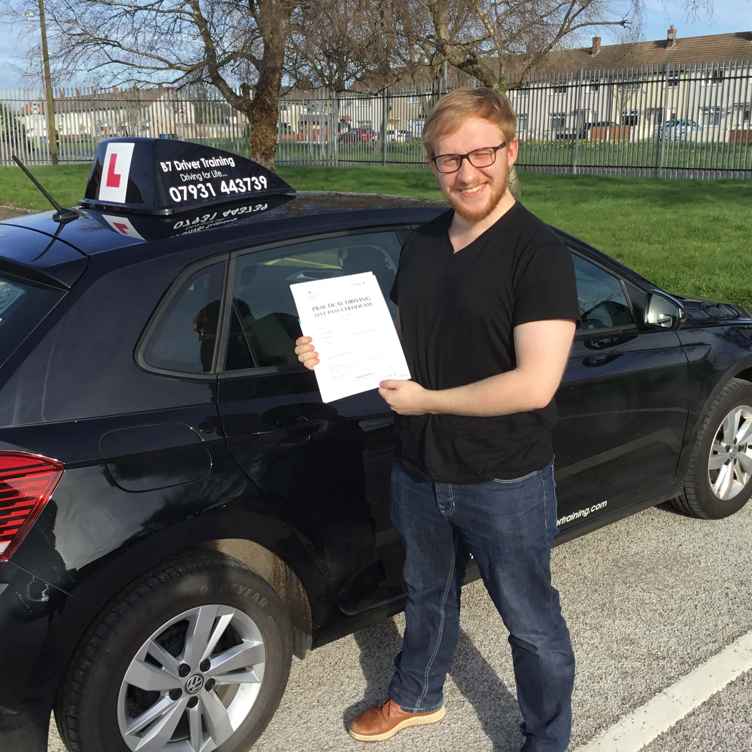 1st time driving test pass @Widnes test centre