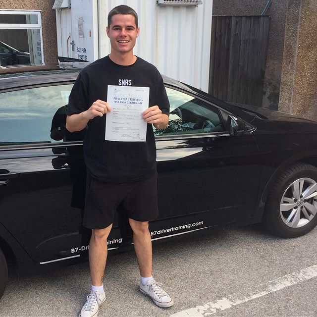 Congratulations Dani,passing his driving test today at Macclesfield DTC with only 2DF. Delighted for you, enjoy boasting at work!  #b7drivertraining #drivinglessons #macclesfielddrivingtest #drivinginstructor VISIT: WWW.B7drivertraining.com