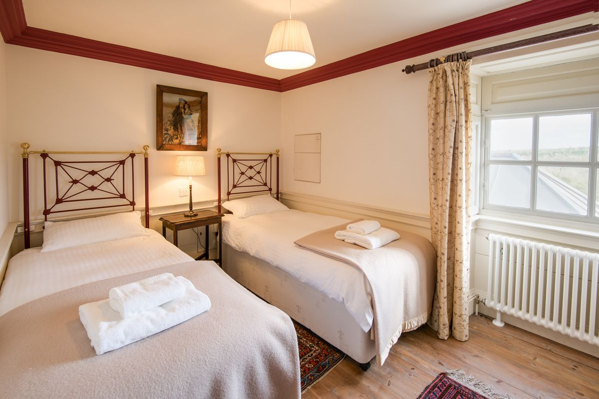 £345 per bed for 3 nights (2 sharing)