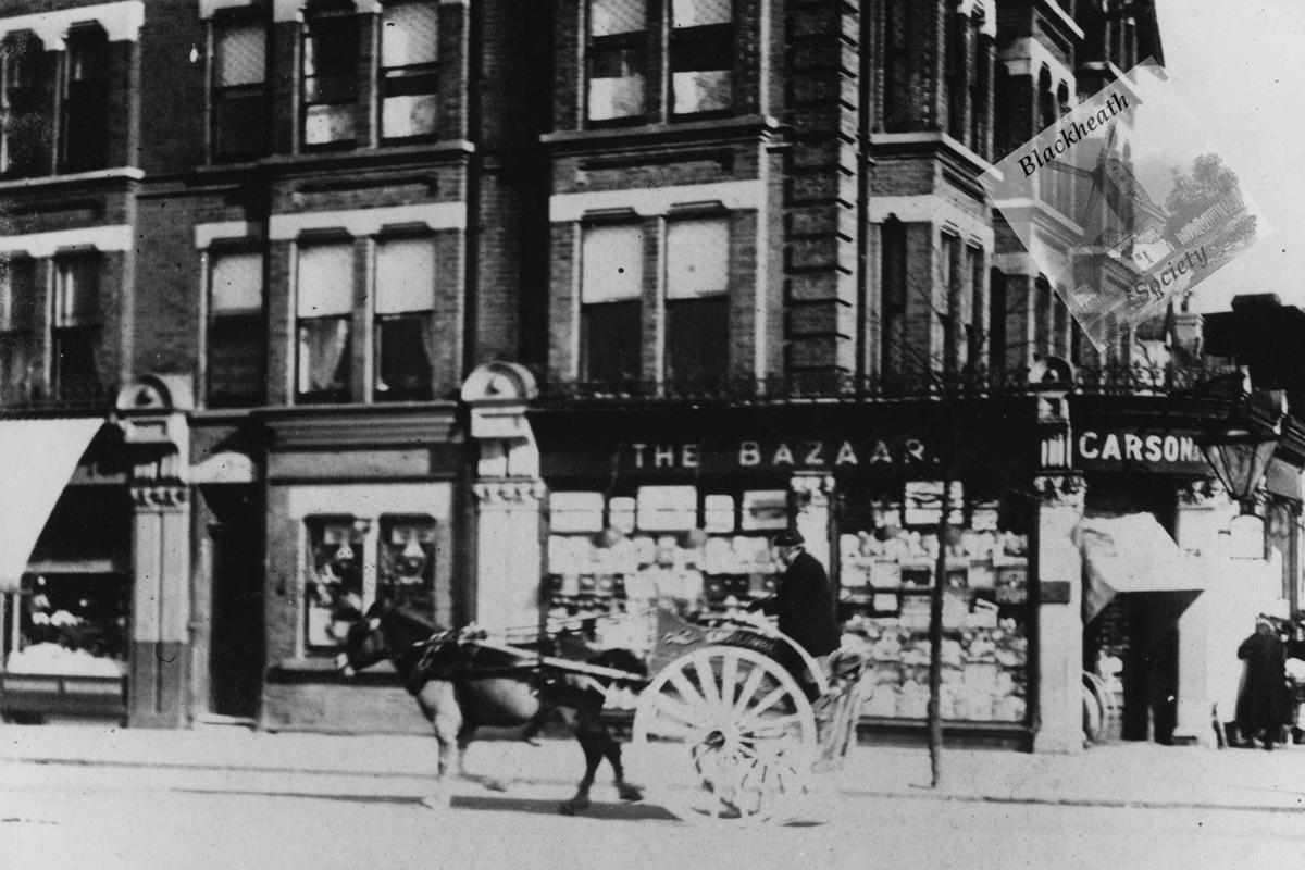 Blackheath bookshop.Early 20th century.