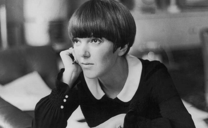 A pensive Mary Quant