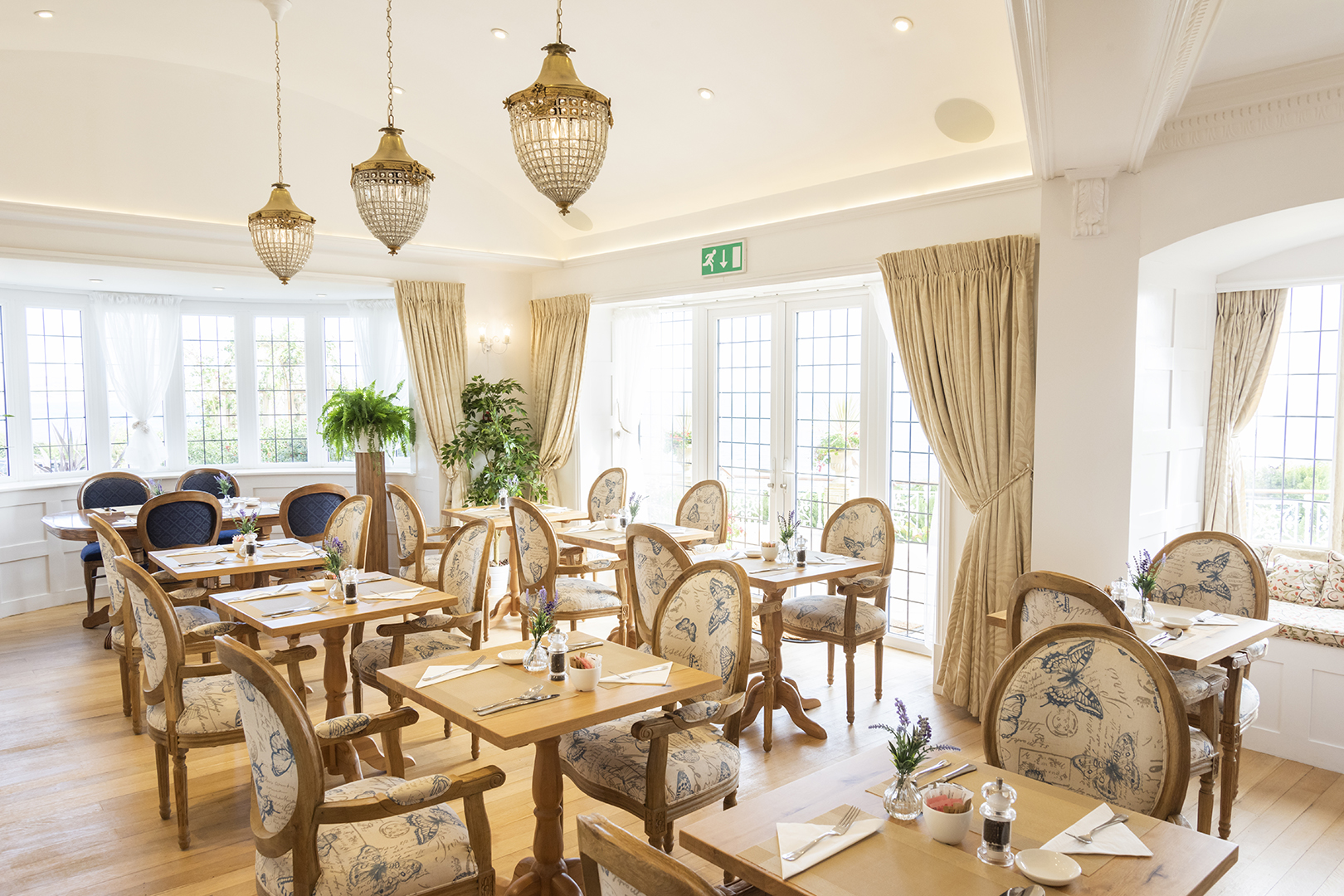 Haven Hall dining room