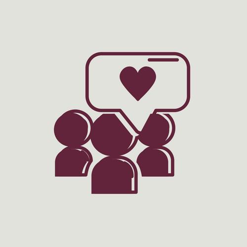 social media emboss