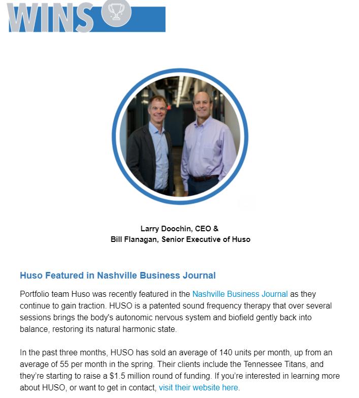 HUSO featured in Project Healthcare via Nashville Entrepreneur Center.png