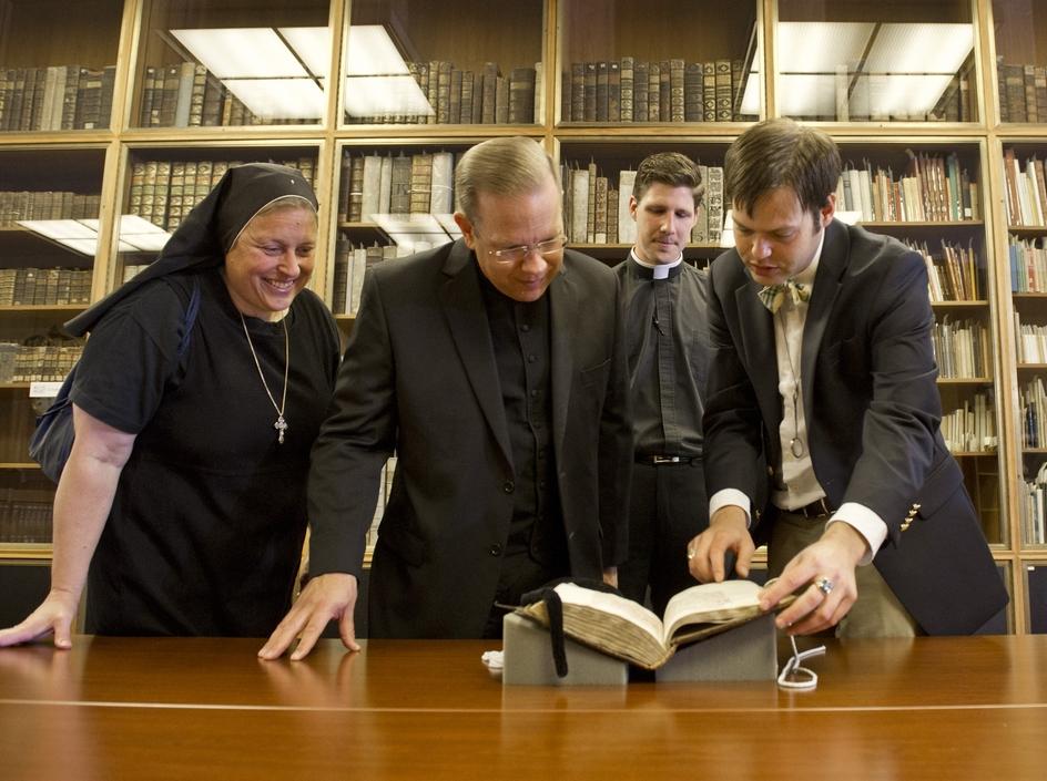 photo: Barbara Johnston / University of Notre Dame